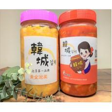 韓城泡菜 - 四罐組(600G)